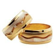 ARANY Bicolor Karikagyűrű – TS63