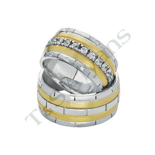 ARANY Bicolor Karikagyűrű – TS68