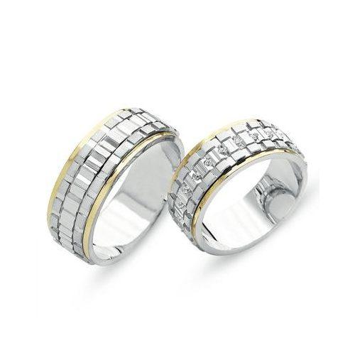 ARANY Bicolor Karikagyűrű – TS711