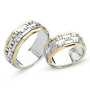ARANY Bicolor Karikagyűrű – TS714
