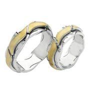 ARANY Bicolor Karikagyűrű – TS716