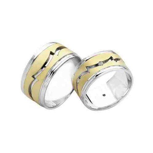 ARANY Bicolor Karikagyűrű – TS724
