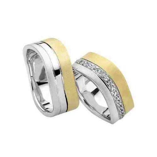 ARANY Bicolor Karikagyűrű – TS725