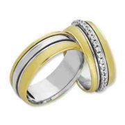 ARANY Bicolor Karikagyűrű – TS731