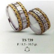 ARANY Bicolor Karikagyűrű – TS739