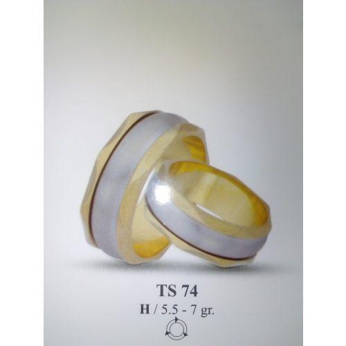 ARANY Bicolor Karikagyűrű – TS74