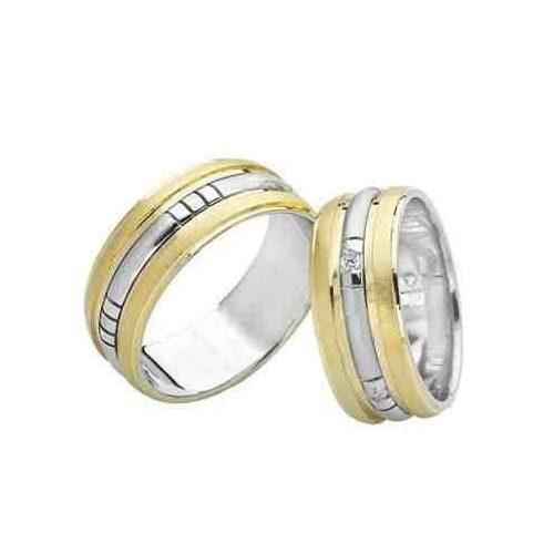 ARANY Bicolor Karikagyűrű – TS756