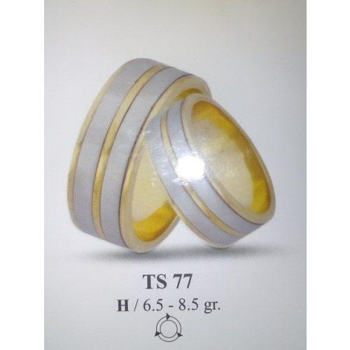 ARANY Bicolor Karikagyűrű – TS77