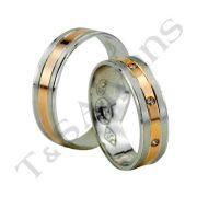 ARANY Bicolor Karikagyűrű – TS770