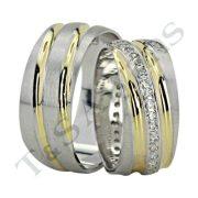 ARANY Bicolor Karikagyűrű – TS774