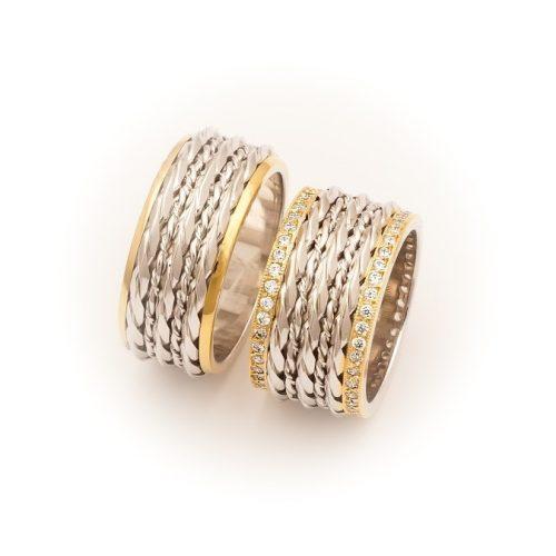 ARANY Bicolor Karikagyűrű – TS777