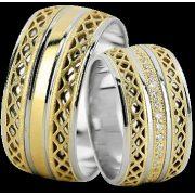 ARANY Bicolor Karikagyűrű – TS786