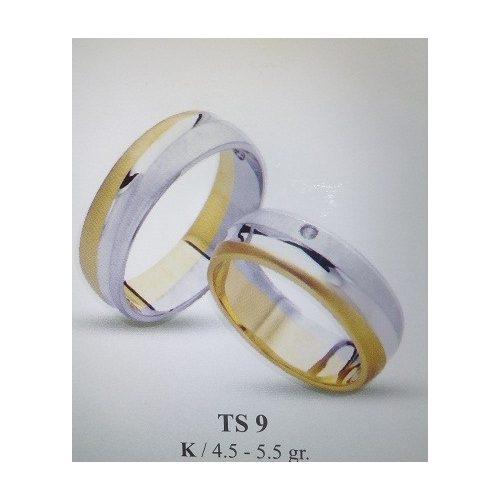 ARANY Bicolor Karikagyűrű – TS9
