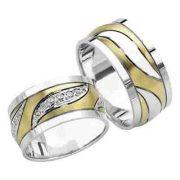ARANY Bicolor Karikagyűrű – TS905