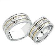 ARANY Bicolor Karikagyűrű – TS908