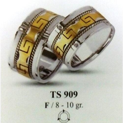 ARANY Bicolor Karikagyűrű – TS909
