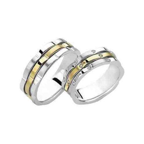 ARANY Bicolor Karikagyűrű – TS913