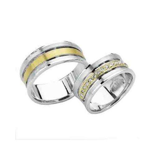 ARANY Bicolor Karikagyűrű – TS914
