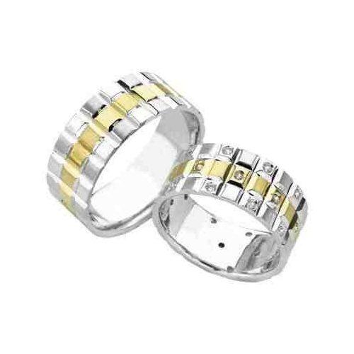 ARANY Bicolor Karikagyűrű – TS915