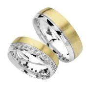 ARANY Bicolor Karikagyűrű – TS916