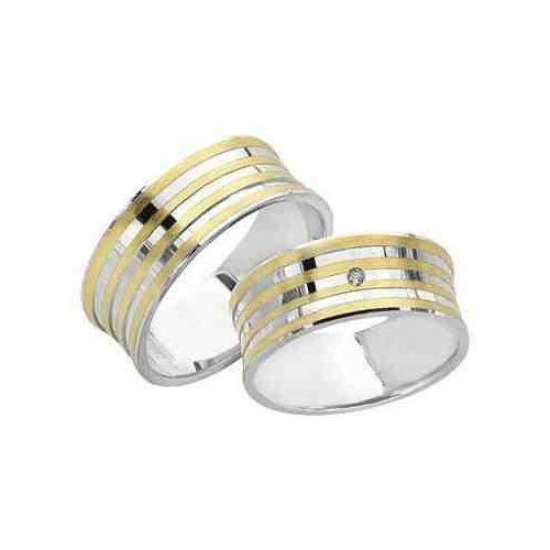 ARANY Bicolor Karikagyűrű – TS918