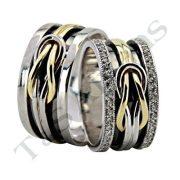 ARANY Bicolor Karikagyűrű – TS919
