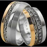 ARANY Bicolor Karikagyűrű – TS920