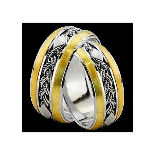 ARANY Bicolor Karikagyűrű – TS922