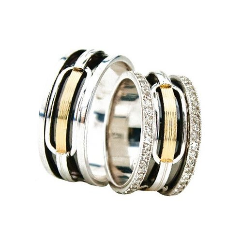 ARANY Bicolor Karikagyűrű – TS925