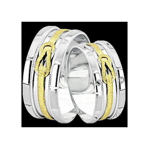 ARANY Bicolor Karikagyűrű – TS929