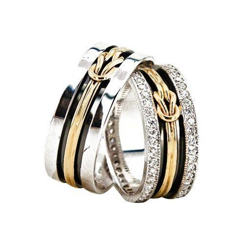 ARANY Bicolor Karikagyűrű – TS931