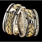 ARANY Bicolor Karikagyűrű – TS934