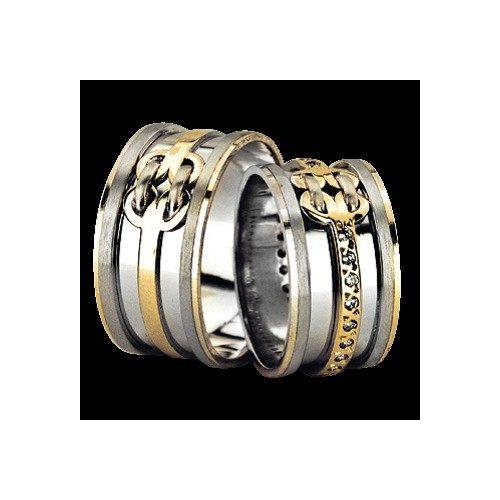 ARANY Bicolor Karikagyűrű – TS935