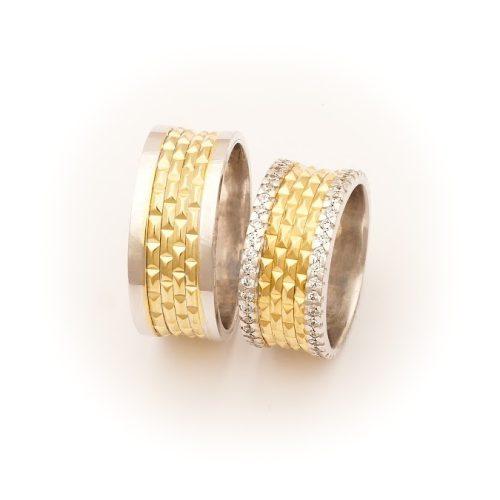 ARANY Bicolor Karikagyűrű – TS936