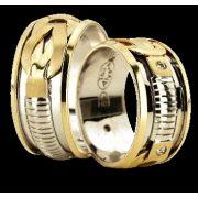 ARANY Bicolor Karikagyűrű – TS937