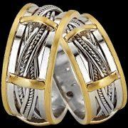 ARANY Bicolor Karikagyűrű – TS939