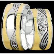 ARANY Bicolor Karikagyűrű – TS940