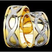 ARANY Bicolor Karikagyűrű – TS941