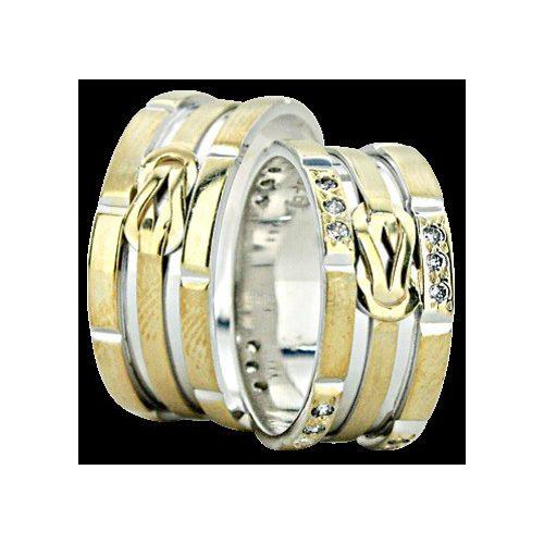 ARANY Bicolor Karikagyűrű – TS942