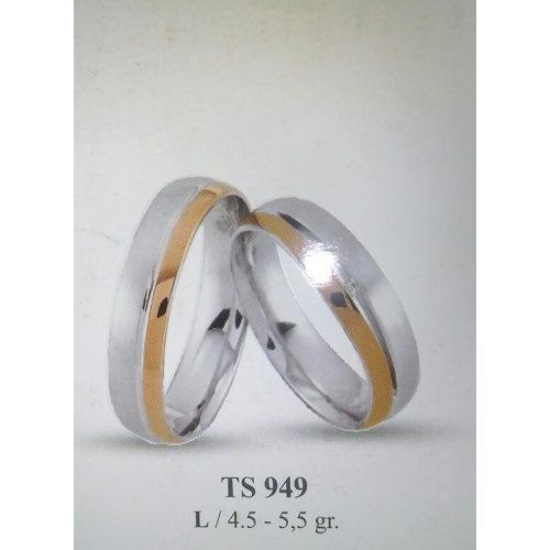ARANY Bicolor Karikagyűrű – TS949