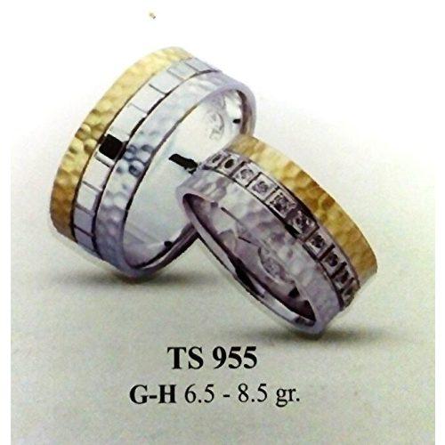 ARANY Bicolor Karikagyűrű – TS955