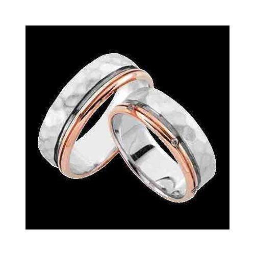 ARANY Bicolor Karikagyűrű – TS956
