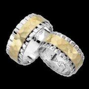 ARANY Bicolor Karikagyűrű – TS957