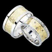 ARANY Bicolor Karikagyűrű – TS961