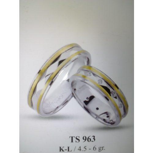 ARANY Bicolor Karikagyűrű – TS963