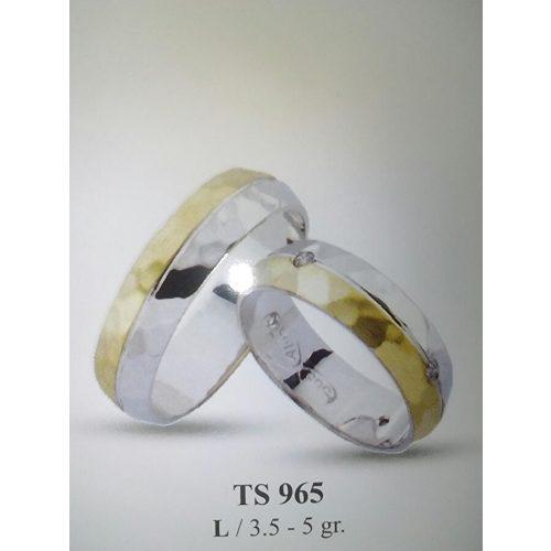 ARANY Bicolor Karikagyűrű -TS965