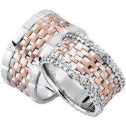 ARANY Bicolor Karikagyűrű – TS966