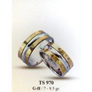 ARANY Bicolor Karikagyűrű – TS970