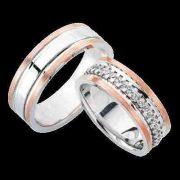 ARANY Bicolor Karikagyűrű – TS972