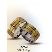 ARANY Bicolor Karikagyűrű – TS973